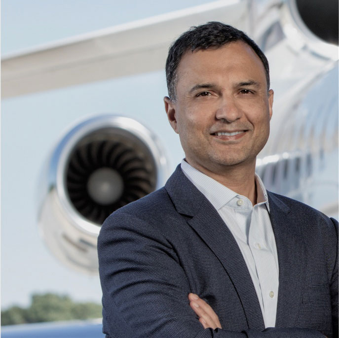 Vivek Kaushal • President & COO • Global Jet Capital