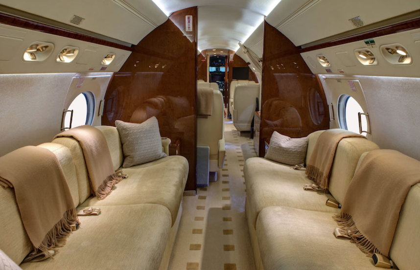 2015 challenger 350 aircraft cabin sink