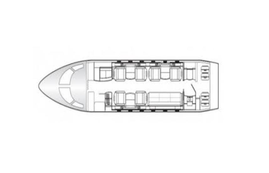 2015 challenger 350 aircraft cabin diagram